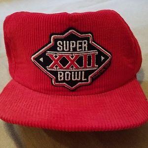 NWOT Vintage Super Bowl XXII (Redskins won) hat